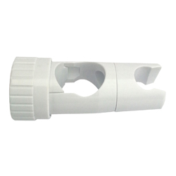 32mm Grab Rail Shower Slider - White